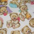 Fleece Baby Blanket/ Baby Beanie and Booties