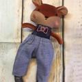 READY TO POST  Fox BOY - Small