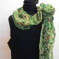 Forrest - floating fibre  scarf