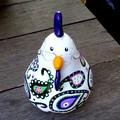 Gourd Art - Rustic Hen (ART-20001_001)