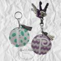 Personalised keychains/ tassel keychain/ custom keyring