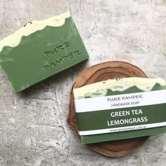 Handmade Soap - Green Tea Lemongrass
