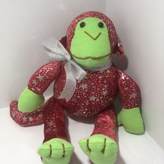 Hand made Plush Soft Monkey