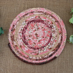 Small Rope Heat pads- Pink and Browns