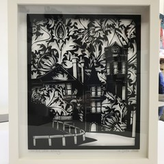 'Old Post Office, Albany' framed papercut