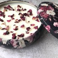 1 free handmade soap included ~ Triple Wick Soy Candle - Rose Victorian