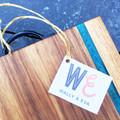 Handmade Australian Hardwood and Eco Resin Serving Board