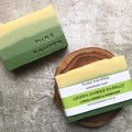 Handmade Soap - Green Energy Ombre