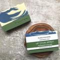 Handmade Soap - Up your Spirit (peppermint & tea tree essential oil blend) Vegan