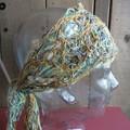 Fawn - floating fibre headwrap
