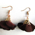 Drop Flower Tassel earrings ...Always Beautiful Day or Night