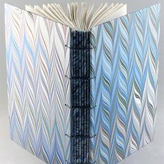 Handmade Journal using Coptic Stitch with Wrapped Spine