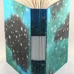 Handmade Buttonhole Stitch Journal