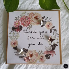 Mother's Day Card | Thankyou