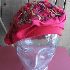 Pomeroy - floating fibre beret