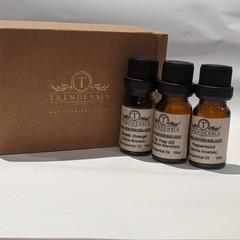 Anti-Virus Essential Oils Trio Pack   Tea Tree, Peppermint N Sweet Orange