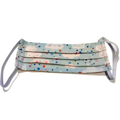 Funky Fashionable Face Mask - Starry Cloudy Night