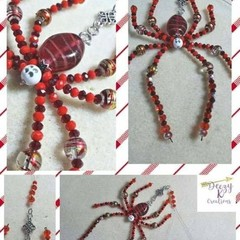 S A L E ! ~ Beaded Spider Decorations ~ Various Styles Available.