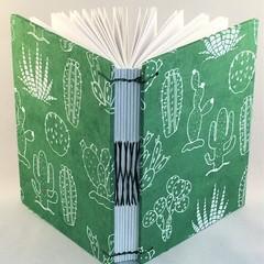 Handmade Journal using Coptic Stitch with French Twist