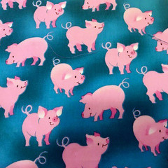 Funky Fashionable Face Mask - Pigs in Pink