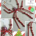 ☆ Price Reduction ☆ ~ Beaded Spider Decorations ~ Various Styles Available.