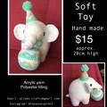Elephant soft toy Crochet