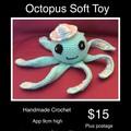 Octopus soft toy Crochet