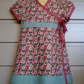 'Floral Fantasy' Wrap Dress