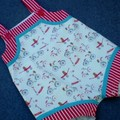 Little Red Wagon Sunsuit