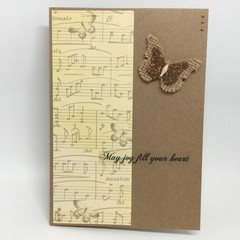 Any Occasion Card - May Joy Fill Your Heart