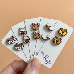 Cute Animal Earring Studs