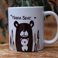 Mama Bear 2 printed mug, Mother's Day Gift
