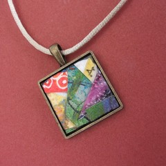 Kermit - Collage Pendant