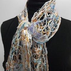 Alexandra - floating fibre  scarf