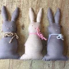 Bunny Rattle Softie