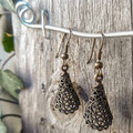 Lovely Brass Earrings