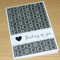 Thinking of you  - Sympathy condolence card