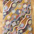 Heat Pack (aboriginal print light brown)