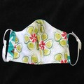 Turtle/Dolphin Fabric Face Masks, Size:7-12yrs Ready Made kids