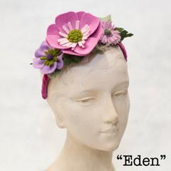 Felt Flower Headpiece - Assorted Colours