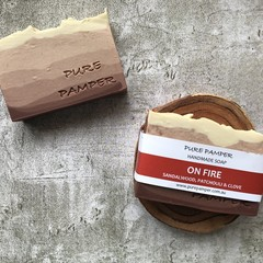 Handmade Soap - On Fire