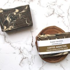 Handmade Soap - Coffee Addictive ( Coffee Scrub Soap)