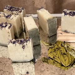 Relaxing Soap . 100% natural bar of goodness for your skin.