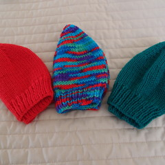 *Special * 3 beanies: (1-3yrs): Washable, unisex, winter, soft