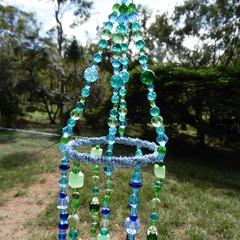 Blue Green Suncatcher