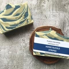 Handmade Soap - Honeysuckle Swirl