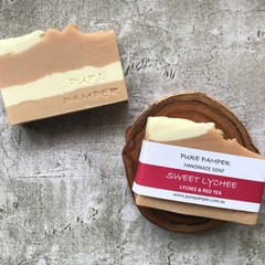 Handmade Soap - Sweet Lychee
