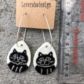 Cheeky Cat earrings