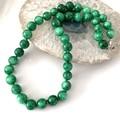 Swirl Green Genuine JADE (Nephrite) Classic Necklace.