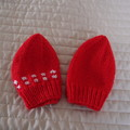 *Special * 2 beanies: (6-12mths): Washable, unisex, soft, winter